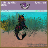 *E* Happy Hippocampus Skin Applier [BOXED] Spectrum