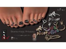 *Bonita* bento rings Princess (Maitreya, LEGACY])