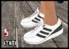 Sneakers Rez or Add - Bobbie - Click to wear click again to detach with resize HUD for System Avatar or Slink Flat Feet