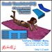 Beach Towel Set (11 Animations 10 Textures, 3 Designs) - PG