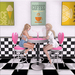 Kawaii couture   dollypop diner set ad   table for two