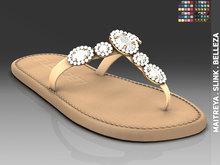 [LC] Heidi Jeweled Sandals