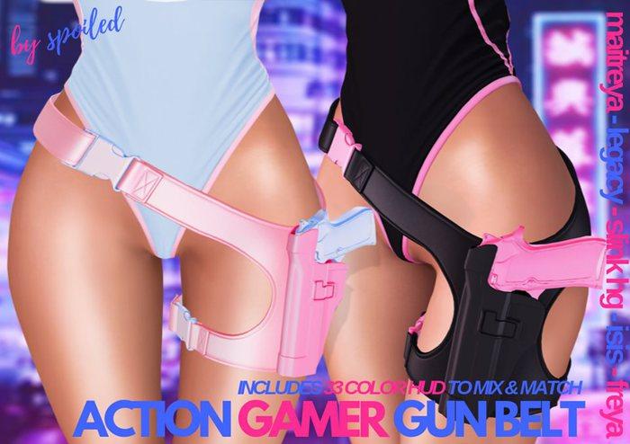 Spoiled - Action Gamer Gun Belt Fatpack