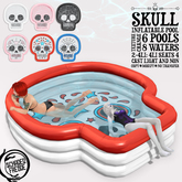 Schadenfreude Skull Inflatable Pool