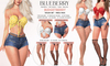 Blueberry - Taylor Set - Shorts & Belts - DEMO