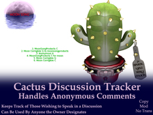 Cactus Discussion Tracker w/Anonymous