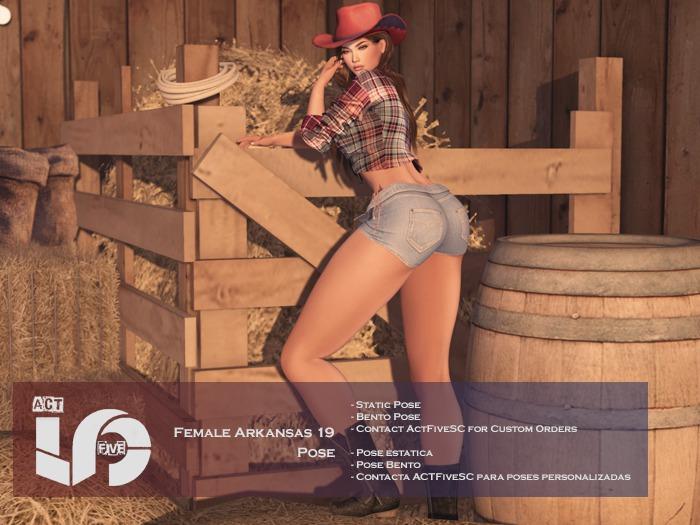 ACT5-298-Female Arkansas 19 Pose BOXED