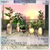 ~ASW~ The Cityscape Balcony Plants