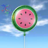 Balloon - Watermelon Slice