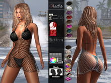 Ahlure - Sorrento bikini-cover up - Maitreya, Belleza Venus Freya Isis, Slink Physique Hourglass - 16 colors HUD