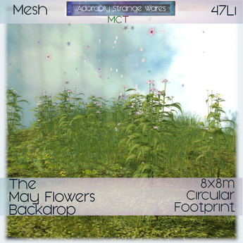 ~ASW~ The May Flowers Backdrop