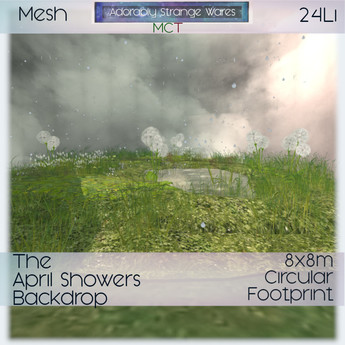 ~ASW~ The April Showers Backdrop