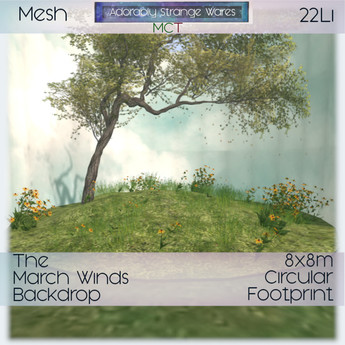 ~ASW~ The March Winds Backdrop