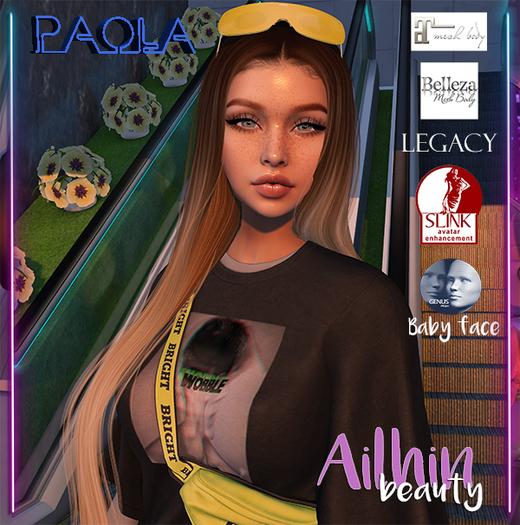 .Ailhin.Paola Shape Hourglass, Belleza, Maitreya, Legacy, Genus