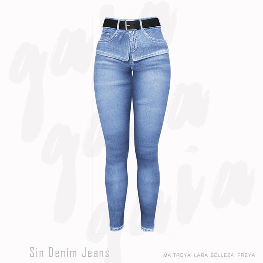 Gaia - Sin Denim Jeans BLUE