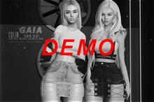 Gaia - Colin Denim Skirt DEMO