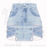 Gaia - Colin Denim Skirt LIGHT