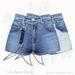 Gaia - Luna Denim Shorts NAVY