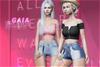 Gaia - Luna Denim Shorts FULLPACK