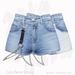 Gaia - Luna Denim Shorts BLUE