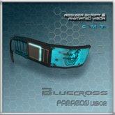 [Bluecross] PARAGON Visor (Bluecross)