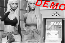Gaia - Emelia Crop Top DEMO