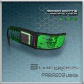 [Bluecross] PARAGON Visor (Green)