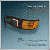 [Bluecross] PARAGON Visor (Orange)