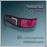 [Bluecross] PARAGON Visor (Pink)