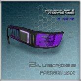 [Bluecross] PARAGON Visor (Purple)