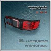 [Bluecross] PARAGON Visor (Red)