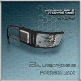 [Bluecross] PARAGON Visor (White)