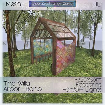 ~ASW~ The Willa Arbor -Boho
