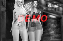 Gaia - Daisy Denim Skirt DEMO