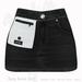 Gaia - Daisy Denim Skirt BLACK