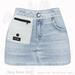 Gaia - Daisy Denim Skirt LIGHT