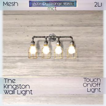 ~ASW~ The Kingston Wall Light