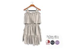 {amiable}Mesh Tiered Summer Mini Dress02