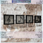 ~ASW~ The Nico Notes Set