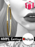 Red.Apple - HOOPS. Earrings