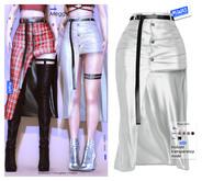 MIWAS / Meggy skirt #White