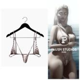 PlushStudios. Teensy Bikini - White