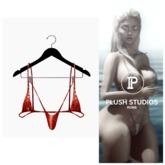 PlushStudios. Teensy Bikini - Crimson