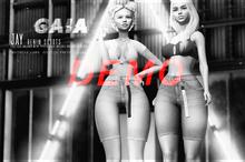 Gaia - Jay Denim Shorts DEMO