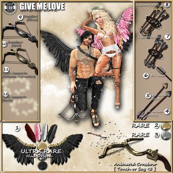 [Since 1975] - Givemelove -Crossbow (Silver)