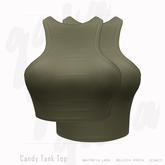 Gaia - Candy Tank Top KHAKI