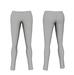 Mesh womens skinny pants with rivets 1
