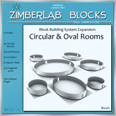 Circular and Oval Rooms full perm - ZimberLab Blocks Expansion - Elliptic