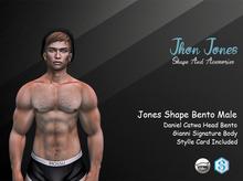 Jones Shape Bento Male