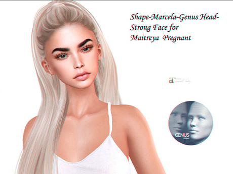 Second Marketplace Face -genus Shape-marcela Head-strong - Life